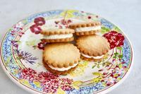 バターサンドクッキー - 杉並区お菓子教室「jardin de l'abbaye 」ブログ