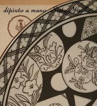 おでんの大皿 強制終了☆ - Italian styleの磁器絵付け