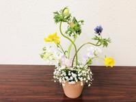 今年最初のレッスン☆ - Flower Days ~yucco*のフラワーレッスン&プリザーブドフラワー~