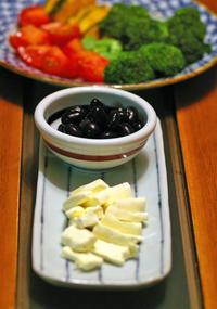 黒豆にクリームチーズ - うつわと暮らしの「からくさ日記」