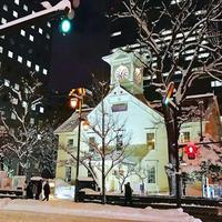 雪に映える美しい時計台 - I LOVE SINGAPORE