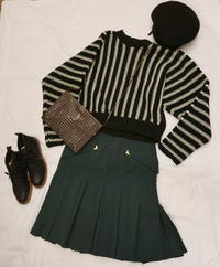 Coodinate Fendi skirt - carboots