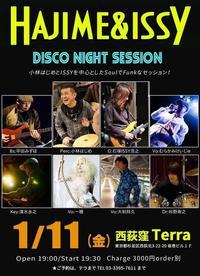 HAJIME & ISSY DISCO NIGHT SESSIONは本日! - 大和邦久 STAFF BLOG