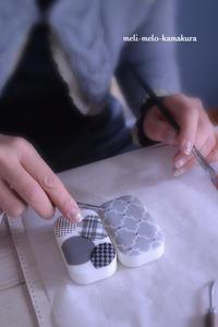 ◆【レッスンレポート】母娘でレッスン♪たくさんの可愛い石鹸ができました - フランス雑貨とデコパージュ&ギフトラッピング教室 『meli-melo鎌倉』