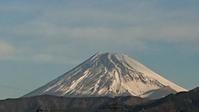 1月11日、我が家から見た富士山と男性の香水? -   心満たされる生活
