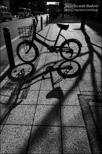 自転車と影 - 和む由もがな