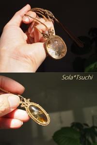 新春★朝陽・羽ばたき - Sola*Tsuchi  花とアクセサリー