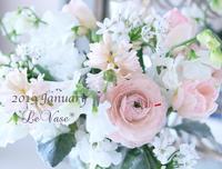 2019年1月のレッスン始まりました♡ - Le vase*  diary 横浜元町の花教室