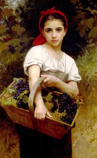 美しすぎるサロン絵画(7)  ウィリアム・ブグロー(4) - ルドゥーテのバラの庭のブログ