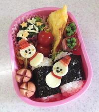 幼稚園弁当。雪だるま - ARTY NOEL