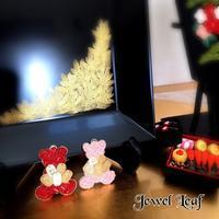 今年もがんばります!!🧸 - 神戸北区西鈴蘭台グルーデコサロン(JGA認定校)★Jewel  Leaf★