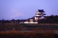 31年1月の富士(5)関宿城と富士 - 富士への散歩道 ~撮影記~