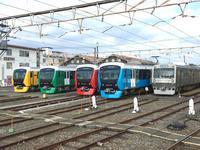 静岡鉄道、新型車両A3000形のお披露目イベント開催! - 子どもと暮らしと鉄道と