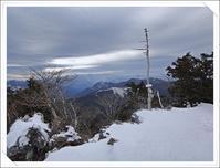 2019/1/10 初登りは台高山系薊岳から - ロコの山迷記-Ⅲ