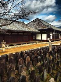 元興寺冬空さらす瓦かな - 風の香に誘われて 風景のふぉと缶