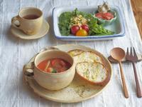 トマトシチューの朝ごはん - 陶器通販・益子焼 雑貨手作り陶器のサイトショップ 木のねのブログ