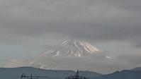 1月12日、お昼ごろかの幻想的な富士山です - 楽しく元気に暮らします