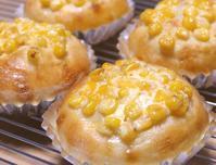 マヨコーン&バジルベーコン - ~あこパン日記~さあパンを焼きましょう