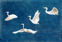 サギとの交流イラスト - 手製本クリエイター&切り絵コラージュ作家yukai の暮らしを愉しむヒント