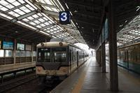 車窓からの剱岳~富山地方鉄道で向かう - 人生折り返し地点。さぁ、どこ行こう?