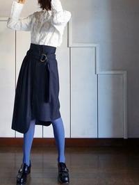 紺色の甘酸っぱいスカート - 美人レッスン帳 BELA VISTA編