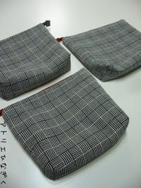 手織りでポーチ - アトリエひなぎく 手織り日記