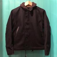"Dry Bones ""N-1 Leather Combination Jacket"" - ★ GOODY GOODY ★  -  ROCK'N ROLL SHOP"