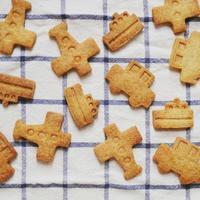 今日のおやつ〜乗り物クッキー〜 - 料理教室 あきさんち