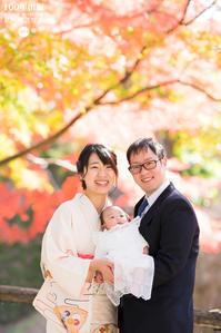 2018/11/27お宮参りの家族写真 - 「三澤家は今・・・」