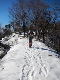 池田山で雪山体験! - 山にでかける日