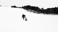 雪山と温泉 - 山谷彷徨