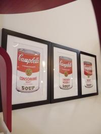 久しぶりにアンディー・ウォーホルのスープ缶♪CONSOMME,CHICKEN NOODLE,BEEF♡ - GLASS ONION'S BLOG