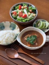 激辛カレーとピタリ賞d((,,゚¬゚,,))♪ - **  mana's Kitchen **