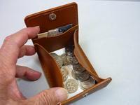 小銭よく見える⇒ Box型(補充します)第2の財布としていかがですか! - 革小物 paddy の作品