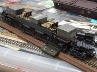 16番 EF583 レストア工事(その5) モーター、ウェイト、Kadeeカプラー取り付け、下回り組完(未電装) - 新湘南電鐵 横濱工廠3