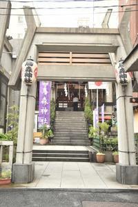烏森神社 - 僕の足跡