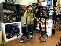 BROMPTON M6Lご納車です! - カルマックス タジマ -自転車屋さんの スタッフ ブログ