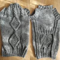 愛犬タオの服、編めましたよ! - ニットの着樂