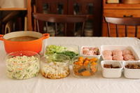 今週のつくり置き ~お味見お昼ごはんが楽しみで♪~ - キラキラのある日々