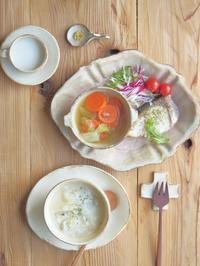 リゾットの朝ごはん - 陶器通販・益子焼 雑貨手作り陶器のサイトショップ 木のねのブログ