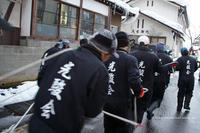 野沢温泉村道祖神祭り1/13会場到着 - 野沢温泉とその周辺いろいろ2