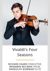 シンシナティ交響楽団ベンジャミン ベイルマンのヴァイオリンでビバルディ四季 - しんしな亭 in シンシナティ ブログ
