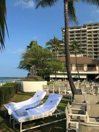 2018年7月2日3日目・朝散歩パート2(笑)& プールサイドでのんびり - ハワイでも のんびりいこうやぁ