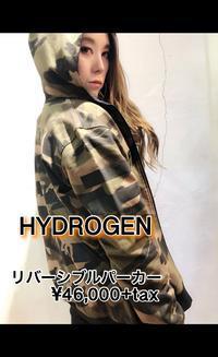2019SS「HYDROGENハイドロゲン」新作リバーシブルパーカー入荷です。 - UNIQUE SECOND BLOG