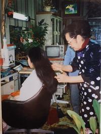 日本髪の出来るまで - ウルスラソーイングショップ(旧テディベア等のブログ) Urslazuli