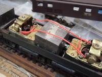 16番 EF583 レストア工事(その6) モーター配線完了、EF583再起動 - 新湘南電鐵 横濱工廠3