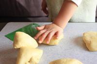 天然酵母でアンパンマンのかぼちゃクリームパンを作りました♪ - しあわせな食卓。