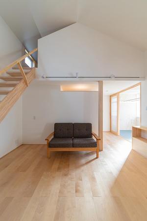 竣工写真 上大川前通の家 - 加藤淳一級建築士事務所の日記