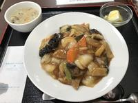 中華丼 ゴハン少な目@北京樓(多摩) - よく飲むオバチャン☆本日のメニュー