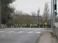 1月12日平和的デモ隊の行進 GJ ④ - フランス Bons vivants des marais